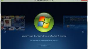 Media Center Windows 8