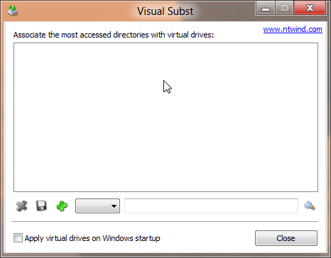 Visual Subst gui