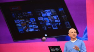 Microsoft Steven Sinofsky stage