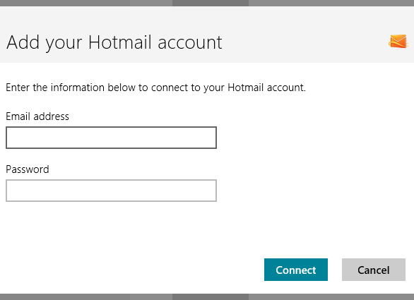 Add a Hotmail Account - Mail