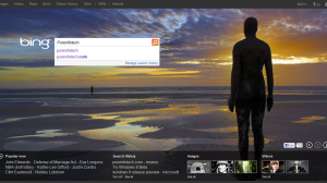 New Bing html5