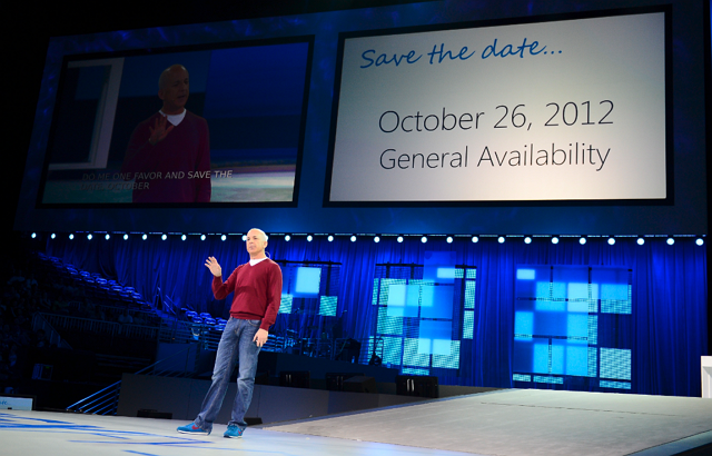 Windows 8 October 26