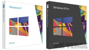 Win 8 Box retail