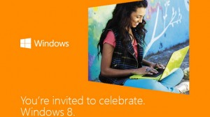 Windows 8 launch invitation