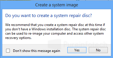 Bootable disc repair