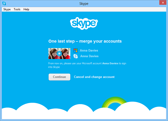 Skype takes over WLM