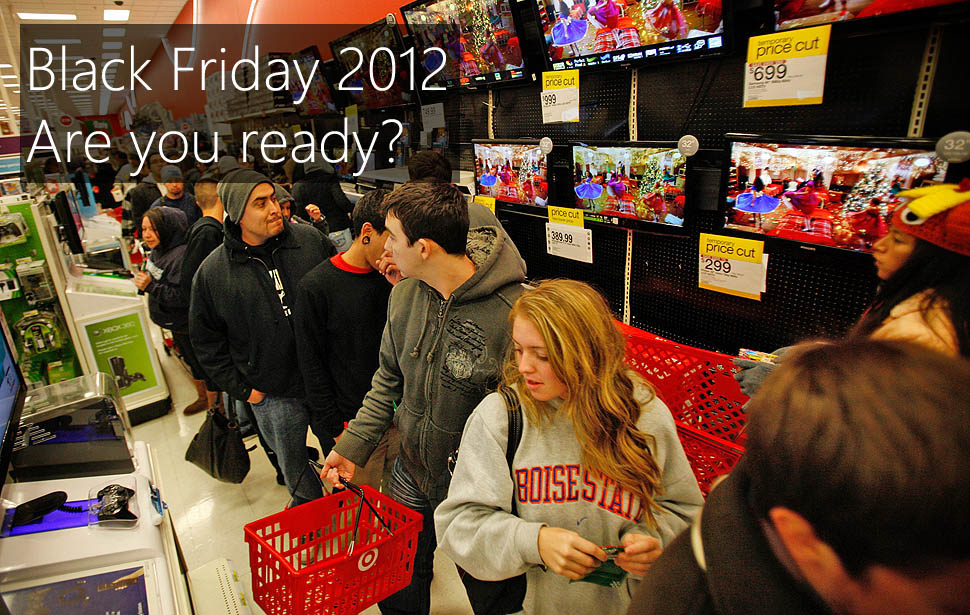 Top deals and tips for Black Friday 2012