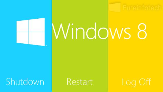 Start screen shutdown button