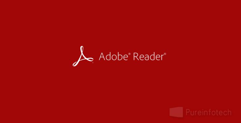 Win8 PDF reader