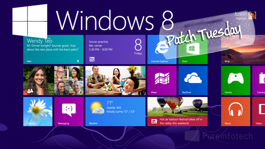 Microsoft patch tuesday august 2012