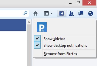 Disable social feature in Mozilla web browser