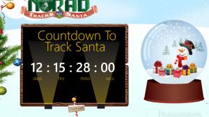 Countdown and Track Santa