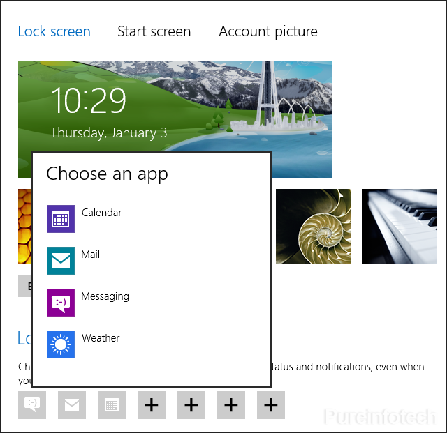 Adding app to Lock
