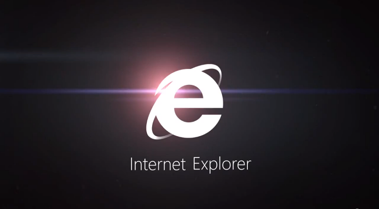 IE black and white logo large