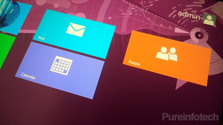 Win8 app update mail calendar people