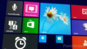 Windows Blue Start screen