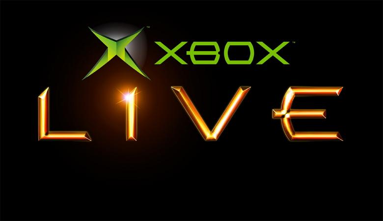 xbox live logo black background