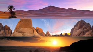 Deserts panoramic theme for Windows 8 and Windows RT