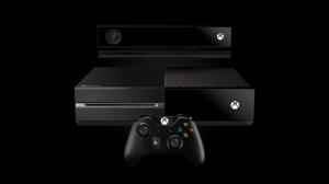 Xbox One console, sensor and controller