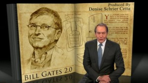 Bill Gates in 60 Minutes interview video