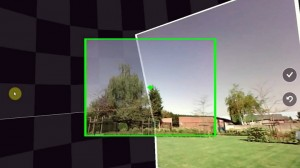 Camera panorama feature with Photosynth