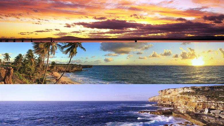 Dual monitor beaches panoramic theme 780_wide