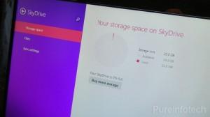 Windows 8.1 SkyDrive app