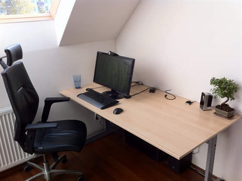 Simple Workspace With Abundant Ambient Light For Good