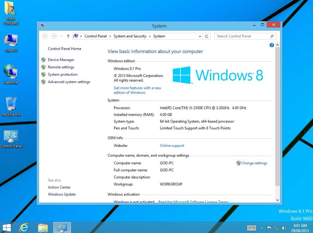 windows 8.1 update pro