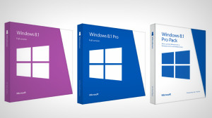 Windows 8.1 Pricing and boxes