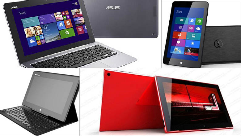 Windows 8.1 Tablets for 2013 lineup