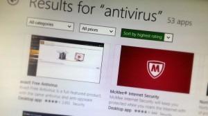 Windows 8.1 compatible antivirus