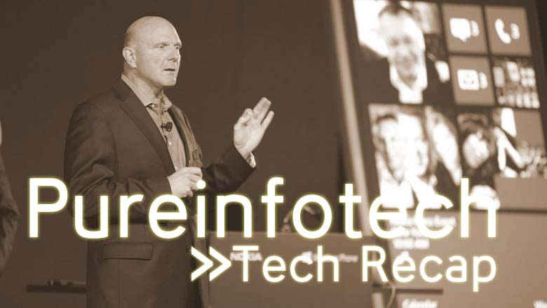Recap Oct 13, Nokia and Windows RT