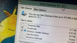 Windows 7 new cleanup option