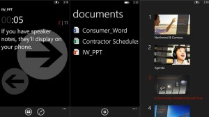 Office Remote app for Windows Phone