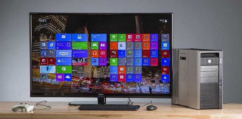 Seiki 50-inch 4K monitor