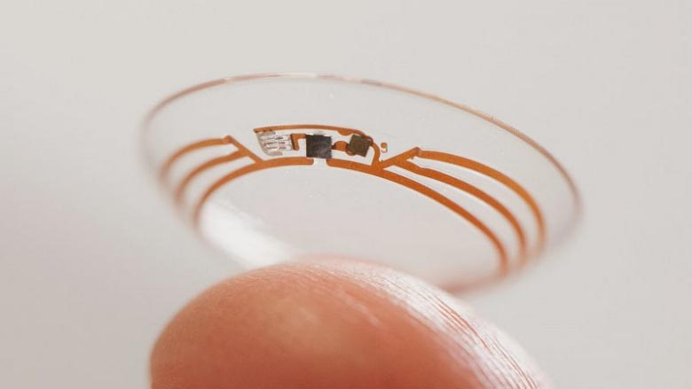 Google Smart Contact Lens - Prototype