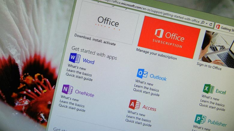 How to download Office 2013 setup files using your product