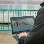 Office 365 logo PC ouside