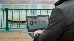 Office 365 logo PC ouside