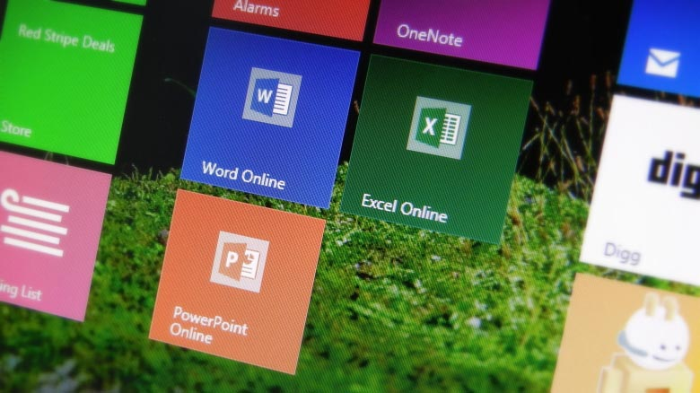 Office Online (Word, Excel, PowerPoint) links to create new documents