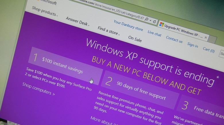 Windows XP trade-in program for new Windows 8.1 PC