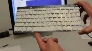 Microsoft hand gesture keyboard prototype
