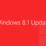 Windows 8.1 Update - red logo