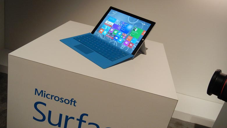 Surface Pro 3, Microsoft demo New York City event 2014