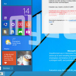 Windows Threshold Start menu leak image version 6.4 build 9795