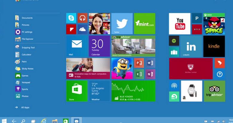 Continuum mode in Windows 10