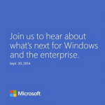 Windows event - invite for September 30 event in San Francisco