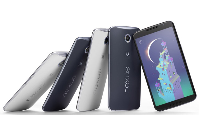 Nexus 6 smartphone group