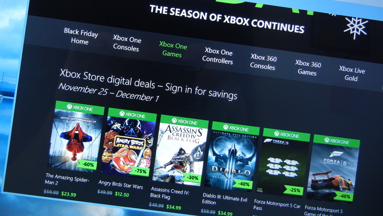 Xbox One games deals